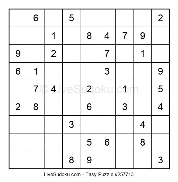 Beginners Puzzle #257713