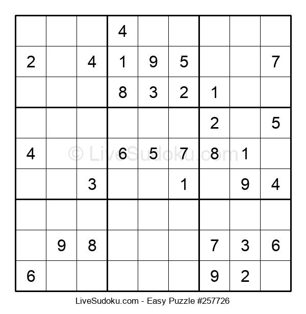 Beginners Puzzle #257726
