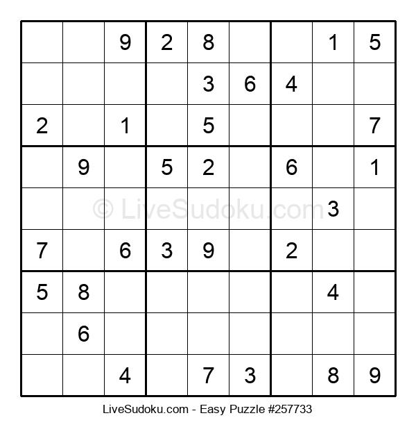 Beginners Puzzle #257733