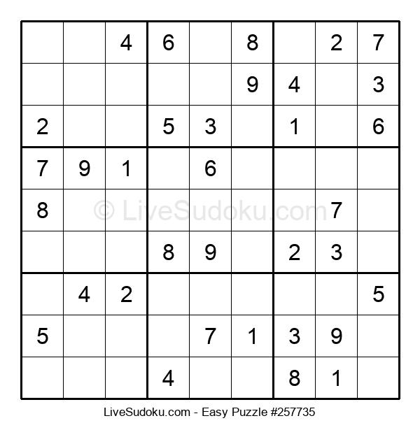 Beginners Puzzle #257735