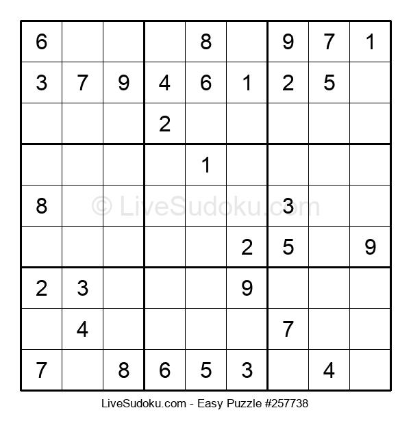 Beginners Puzzle #257738