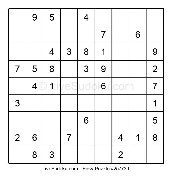 Beginners Puzzle #257739