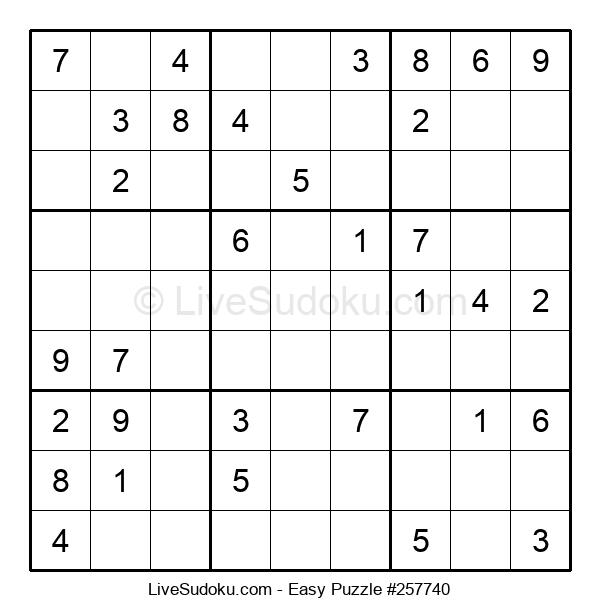 Beginners Puzzle #257740