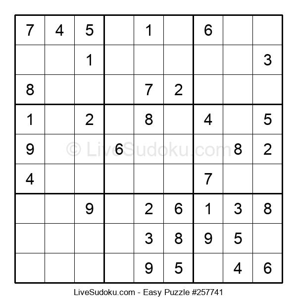 Beginners Puzzle #257741