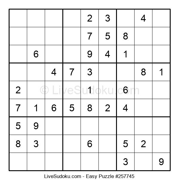 Beginners Puzzle #257745