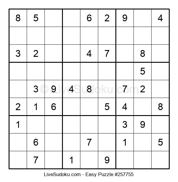 Beginners Puzzle #257755