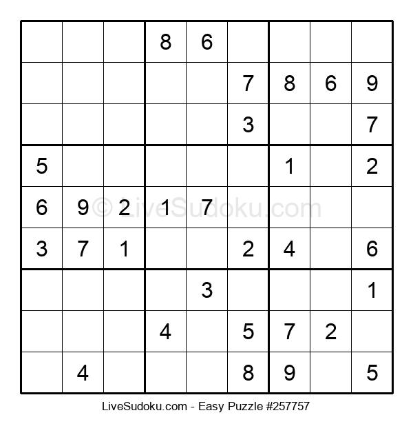 Beginners Puzzle #257757