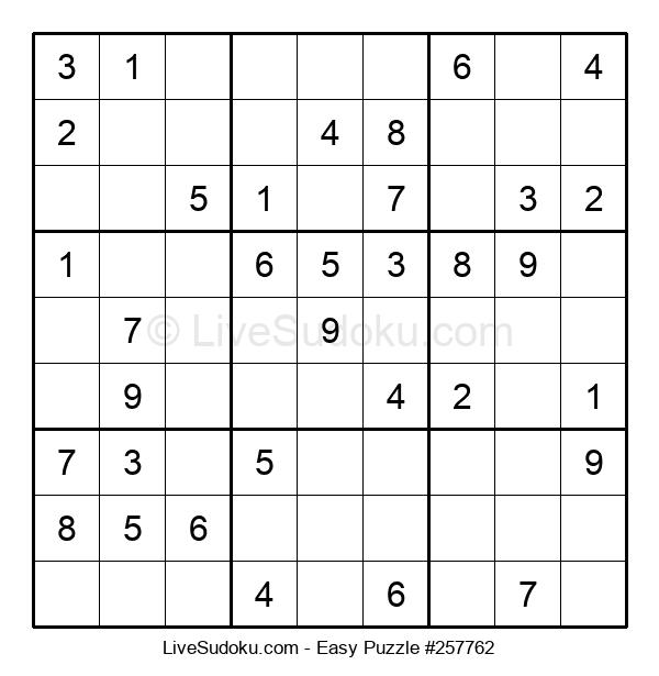 Beginners Puzzle #257762
