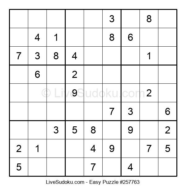 Beginners Puzzle #257763