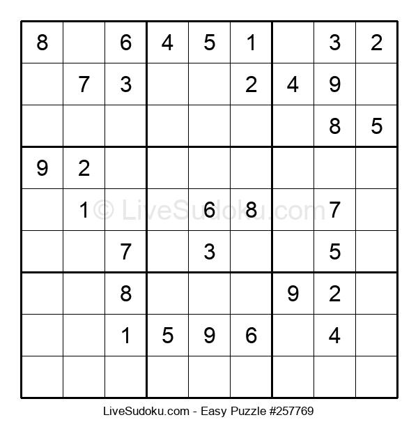 Beginners Puzzle #257769