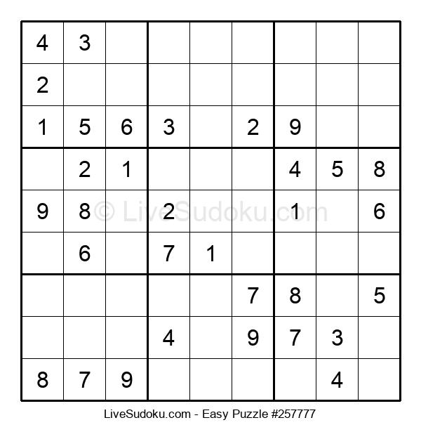 Beginners Puzzle #257777