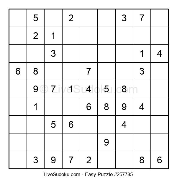 Beginners Puzzle #257785