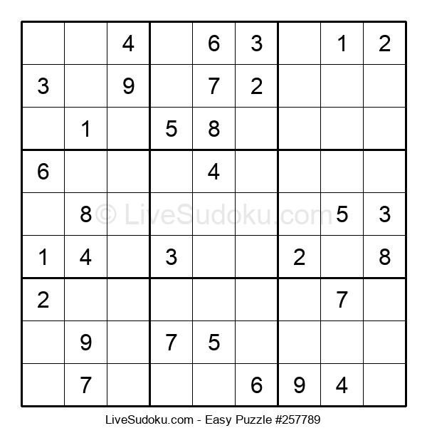 Beginners Puzzle #257789