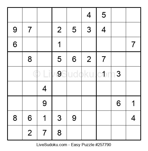 Beginners Puzzle #257790