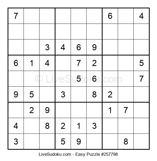 Beginners Puzzle #257798