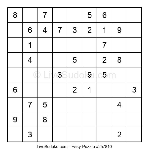Beginners Puzzle #257810