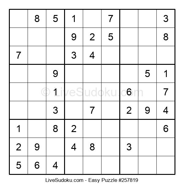 Beginners Puzzle #257819