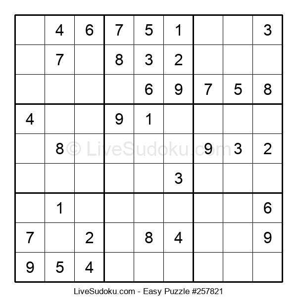 Beginners Puzzle #257821