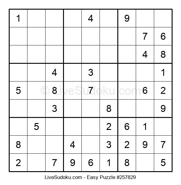 Beginners Puzzle #257829