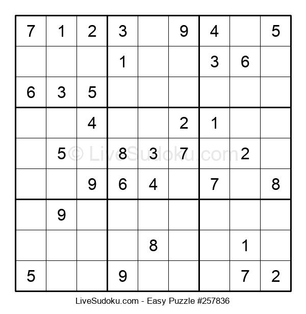 Beginners Puzzle #257836
