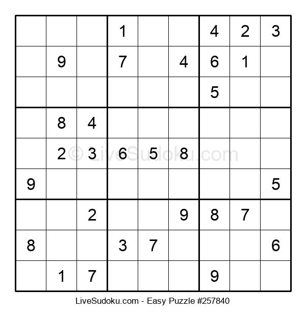 Beginners Puzzle #257840