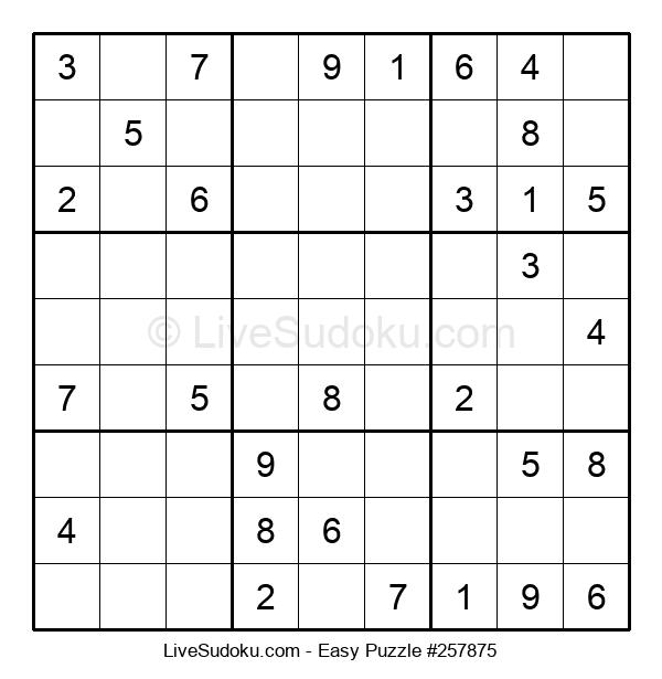 Beginners Puzzle #257875
