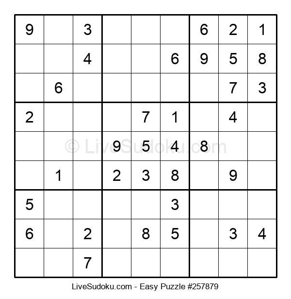 Beginners Puzzle #257879