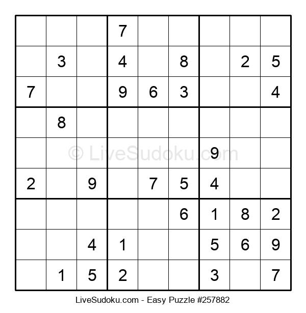 Beginners Puzzle #257882