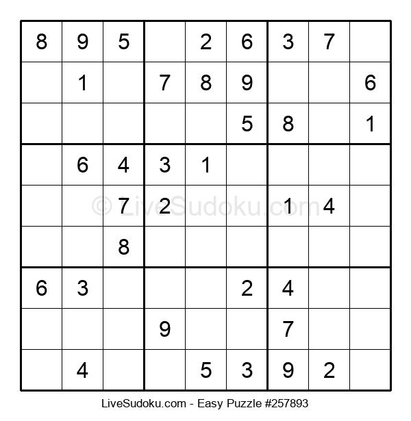 Beginners Puzzle #257893