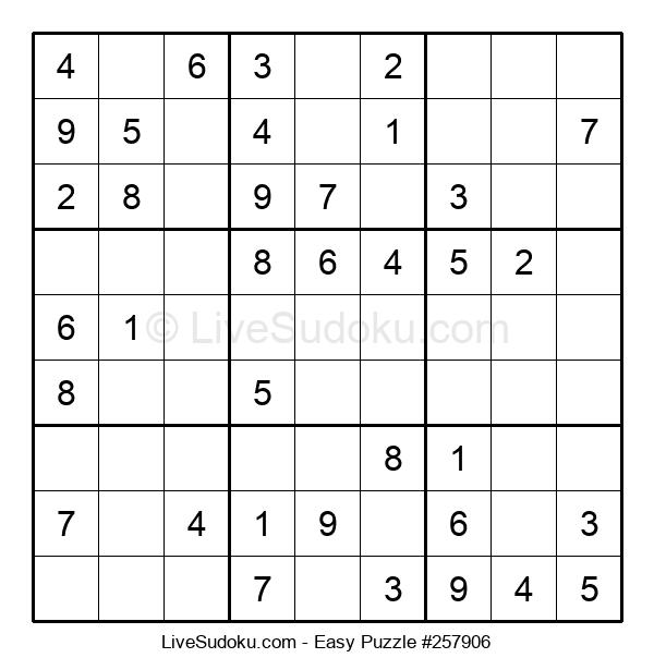 Beginners Puzzle #257906