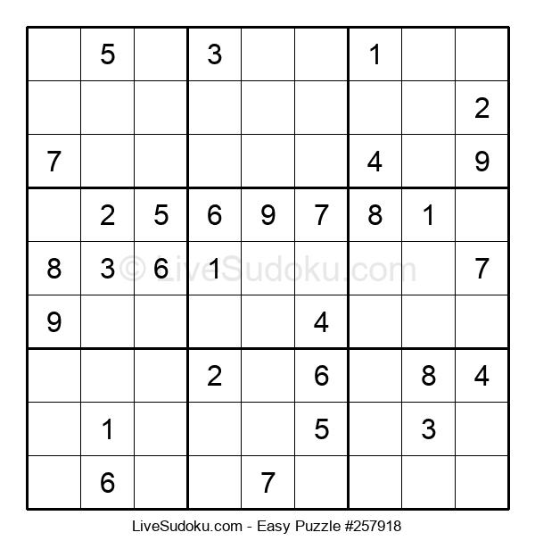 Beginners Puzzle #257918