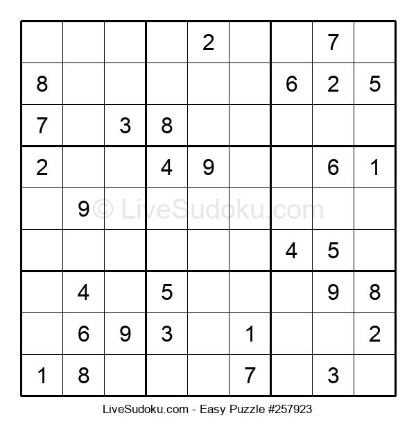 Beginners Puzzle #257923