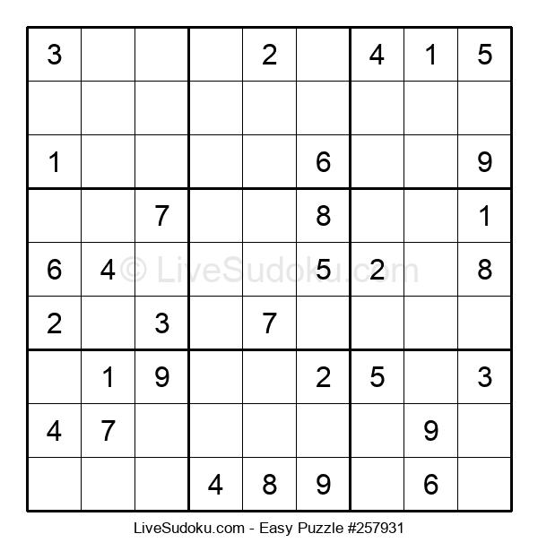 Beginners Puzzle #257931