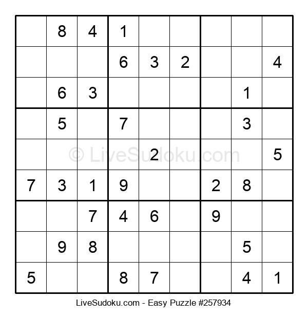 Beginners Puzzle #257934