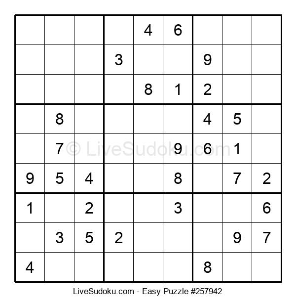 Beginners Puzzle #257942