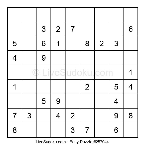 Beginners Puzzle #257944