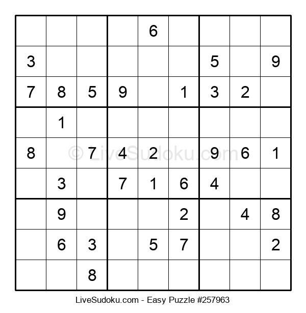 Beginners Puzzle #257963