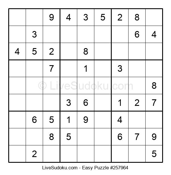 Beginners Puzzle #257964