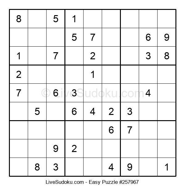 Beginners Puzzle #257967