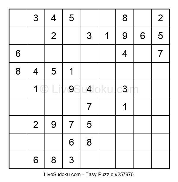 Beginners Puzzle #257976