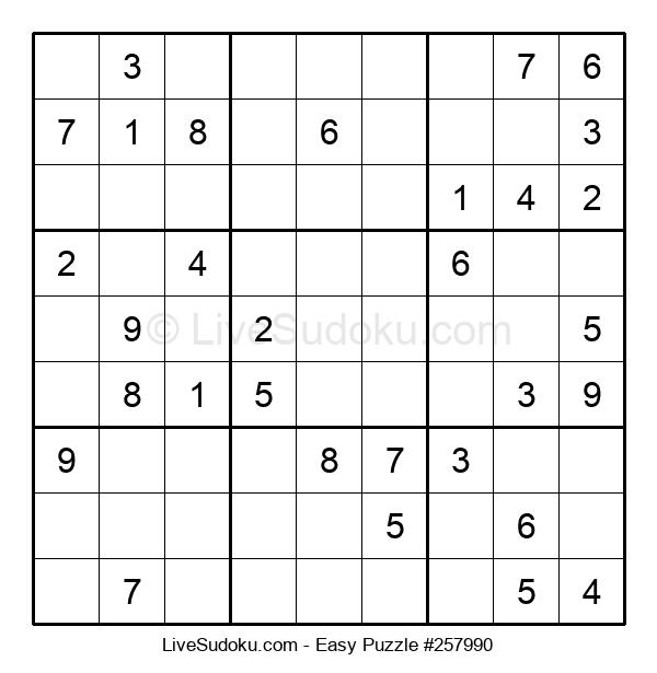 Beginners Puzzle #257990