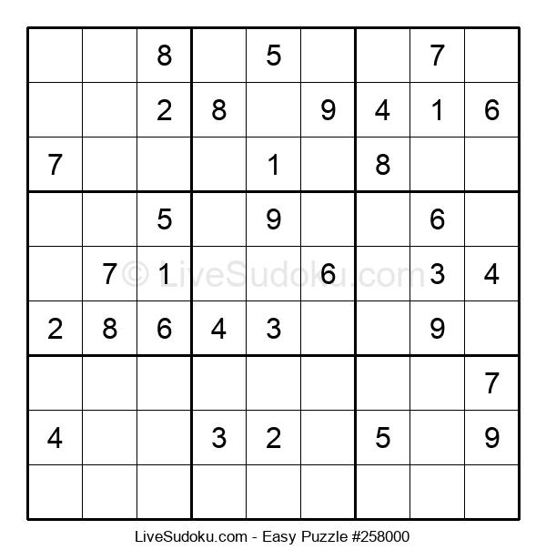 Beginners Puzzle #258000