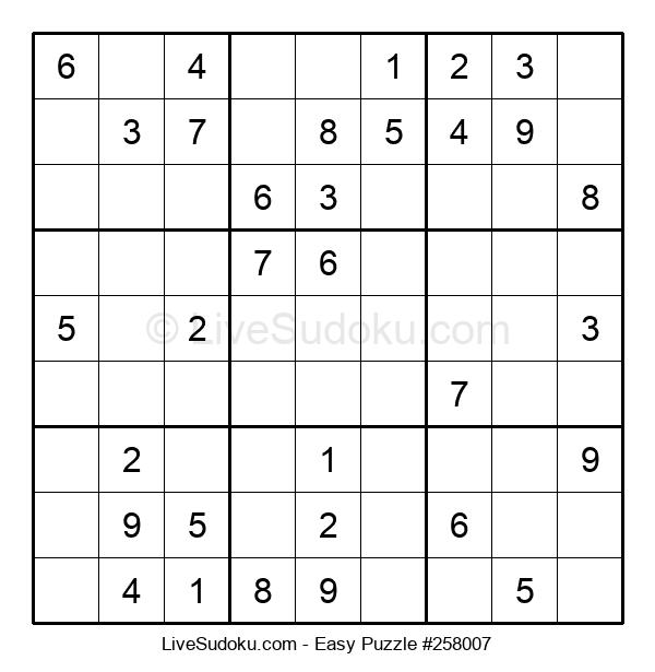 Beginners Puzzle #258007