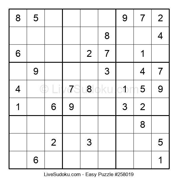 Beginners Puzzle #258019