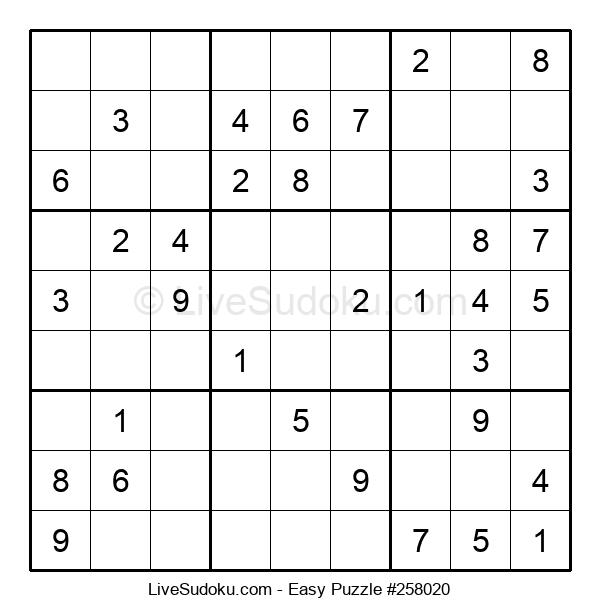 Beginners Puzzle #258020