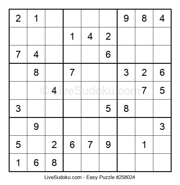 Beginners Puzzle #258024