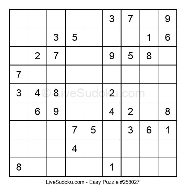 Beginners Puzzle #258027