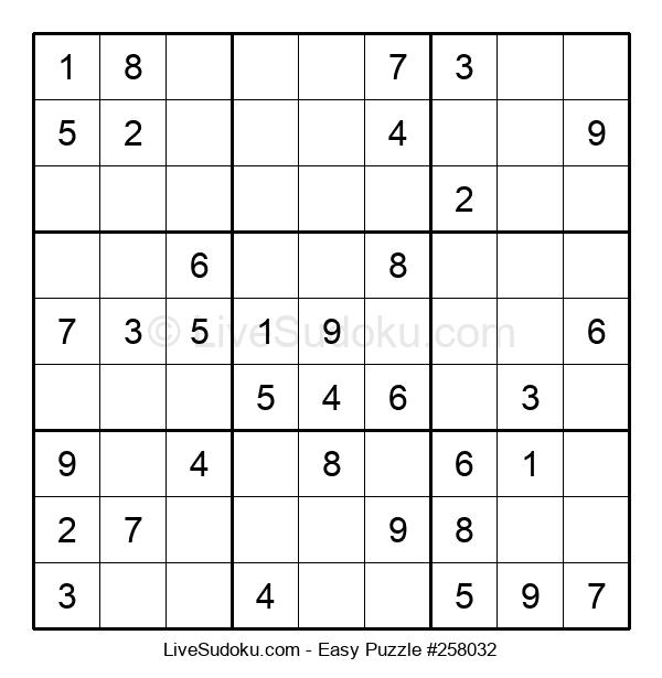 Beginners Puzzle #258032
