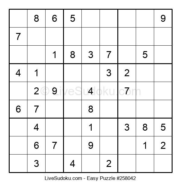 Beginners Puzzle #258042