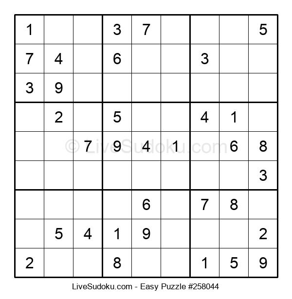 Beginners Puzzle #258044